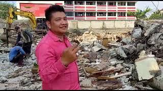Eksekusi Pembongkaran Gedung Di Cengkareng