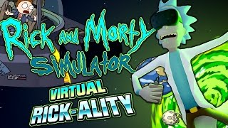 RICK & MORTY VIRTUAL RICK-ALITY FULL GAME + ENDING | 100% CANNON