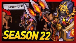 Knights and Dragons - Season 22 EXCLUSIVE Shadowforged!! Power Leveling VOICE OF ABYSS Fire/Spirit!