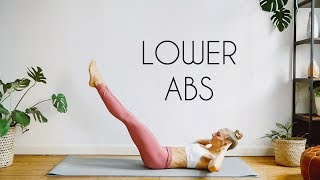 10 min LOWER ABS Workout | LOSE LOWER BELLY FAT