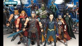 Marvel Legends Ranking: Worst to Best Thor Ragnarok Series (Gladiator Hulk BAF Wave)