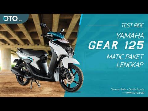 Yamaha Gear 125 | Skutik Sporty Berkenyamanan Maxi