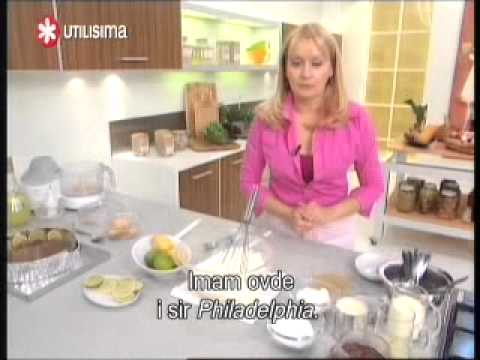 Cheesecake od limuna - VIDEO RECEPT