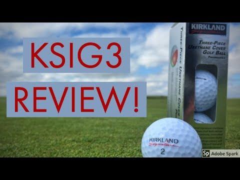 Kirkland Signature 3-Piece Urethane Golf Ball Review