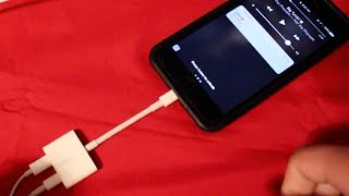 How to Listen to Music while Charging iPhone 7/7 Plus!