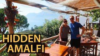 AMALFI COAST ITALY | Praiano Hidden Restaurant!