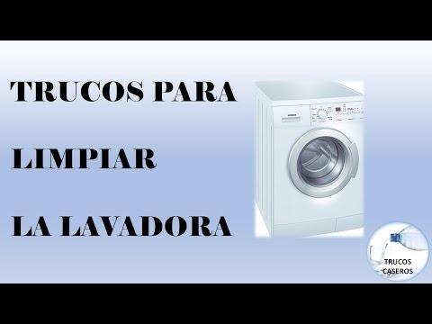 Trucos caseros para limpiar la lavadora - Remedios naturales.