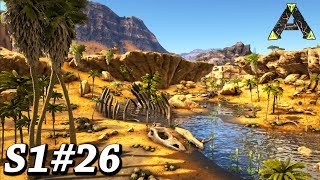 ARK NEW DESERT BIOME, ALL CAVE LOCATIONS + AWESOME BASE LOCATIONS Ark Survival Evolved Ragnarok Ep26