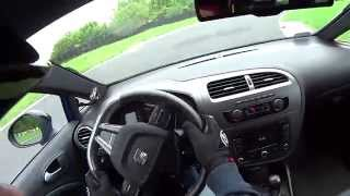 preview picture of video 'SEAT Leon CUPRA R - Tor Radom - Onboard'