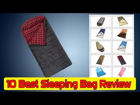 10 Best Sleeping Bag Review | Best Lightweight Sleeping Bag- Under 100