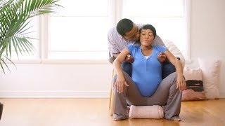 8 positions to ease labor pain