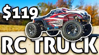 $119 RC Truck: ZD Thunder Brushless REVIEW