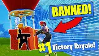 They BANNED This Fortnite Strategy!