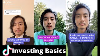 Investing / Stock Market Basics (TikTok Compilation)