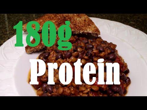 Video HIGH Protein Vegan Recipes - Vegan Athlete Case Study
