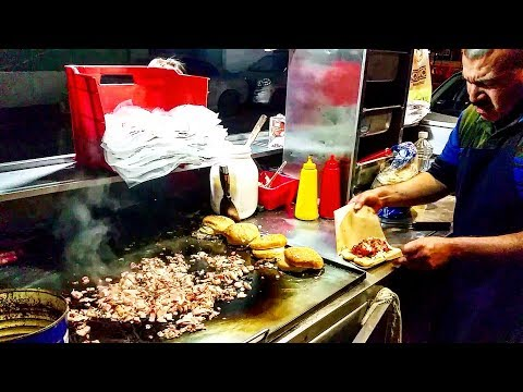 BEST BURGER EVER!!! - Mexican Street Burgers Are Delicious!!! - So Different To Burguer King