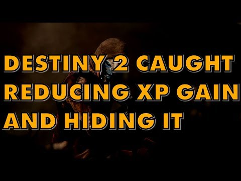 Destiny 2 Caught Lying About End Game XP Gain