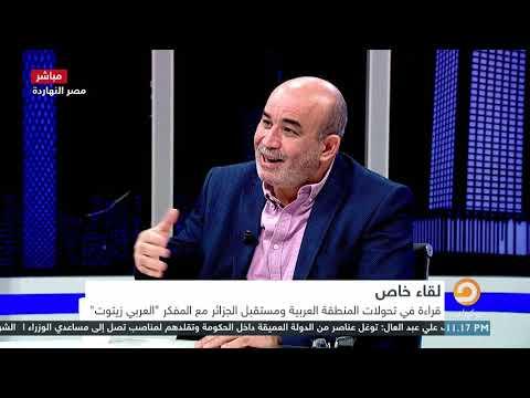 """محمد ناصر في حوار خاص مع الدبلوماسي الجزائري السابق """"محمد العربي زيتوت"""""""
