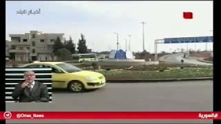 حمص- الانتهاء من أعمال تأهيل دوار حي بابا عمر       23.10.2018