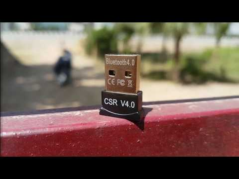 Bluetooth CSR V4.0 USB Adapter Unboxing or review & setup [HINDI]