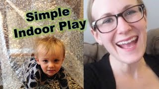 SIMPLE INDOOR PLAY IDEAS | Budget Toddler Play