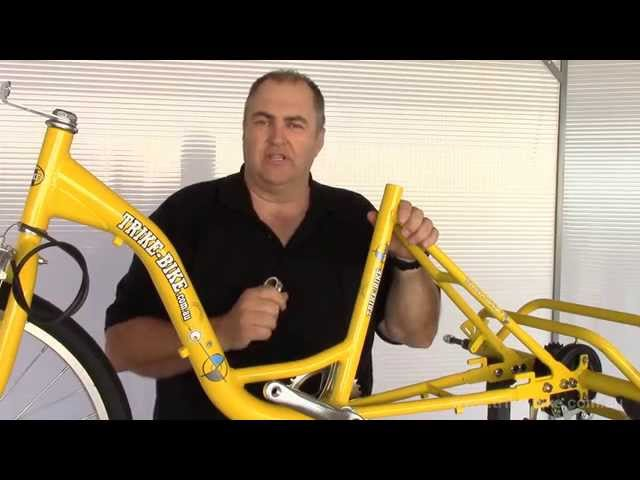 Trike Bike assembly video - 44 minutes duration. How to assemble your Trike Bike
