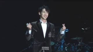 160813 许魏洲 Shanghai Concert ;简单爱(간단애)'