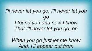 Evermore - Never Let You Go Lyrics
