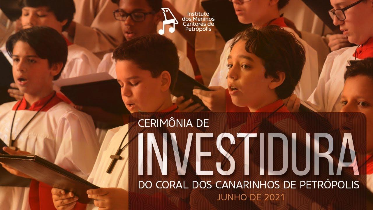 Cerimônia de Investidura do Coral dos Canarinhos