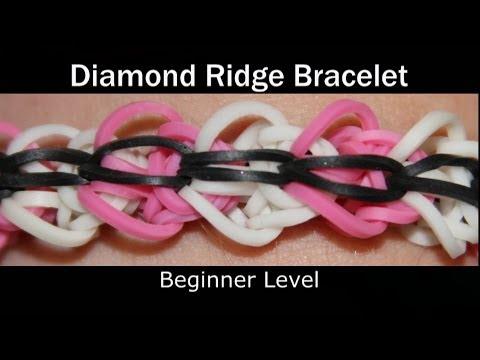 rainbow loom bracelet instructions beginner to advanced