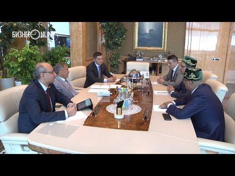 Минниханов встретился с руководством Pernod Ricard Rouss, вторым по величине мировым производителем алкоголя