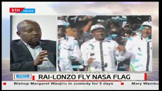 News Center: Raila Odinga and Kalonzo Musyoka fly NASA flag