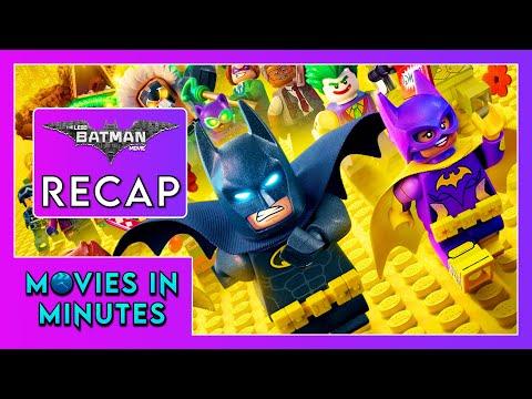 THE LEGO BATMAN MOVIE in 3 minutes (Movie Recap)