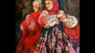 Anna Vinogradova (1975) Russian painter ✽ Francis Goya / Natasha
