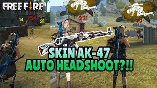 Gambar cover HEADSHOOT TERUS!! KEHEBATAN SKIN TERBARU AK-47 - GARENA FREE FIRE BATTLEGROUND