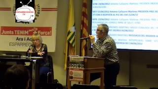 preview picture of video 'ESPARREGUERA TV. Presentació del IRS Iniciativa Reacció Social a Can Pasqual'