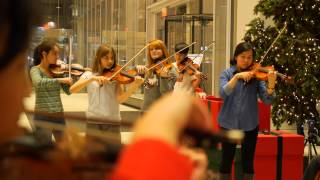 Flash Mob at the Bank of America Tower - CMC @ NY - Chamber Music at Its Best!