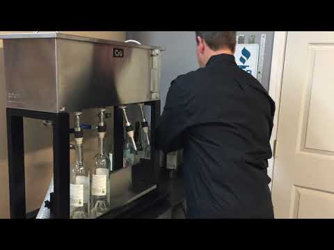 4 Nozzle Gravity Fill Bottler