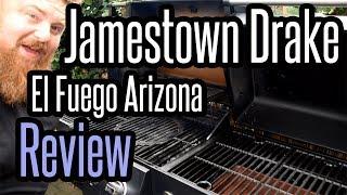 Grill Review zu Kombigrill Jamestown Drake bzw. El Fuego Arizona / Bewertung / Rezension