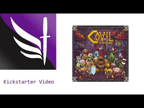 Kickstarter Unboxing - Covil: The Dark Overlords