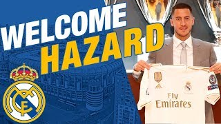 Eden Hazard's Real Madrid Presentation | Behind The Scenes