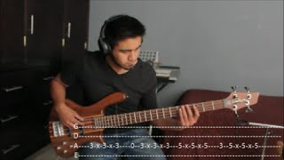 Young The Giant - Strings [BASS COVER WITH TABS]
