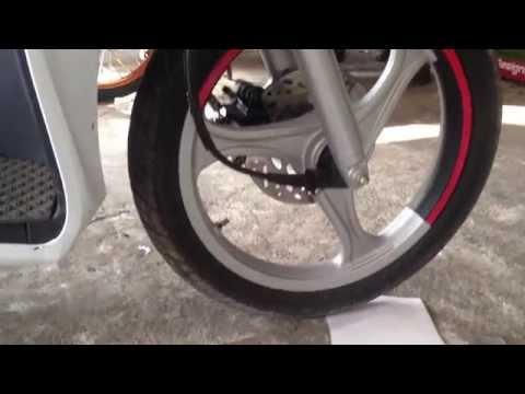 Suzuki Nex 110 New Fi Style Rim - Nex 110 2015 Ride KS Best