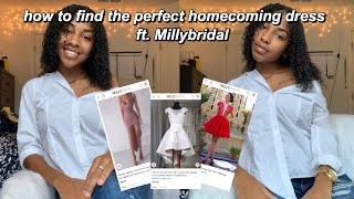 10 Tips to Finding the PERFECT Homecoming Dress | ft. Milly Bridal