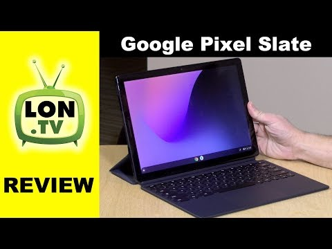 Google Pixel Slate Review – Chrome OS Tablet that runs Android / Linux