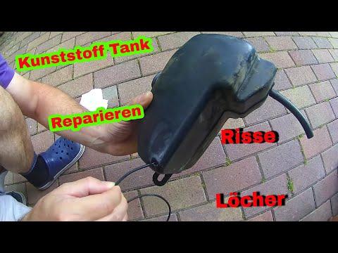 Kunststoff Tank reparieren (risse oder löcher schließen)