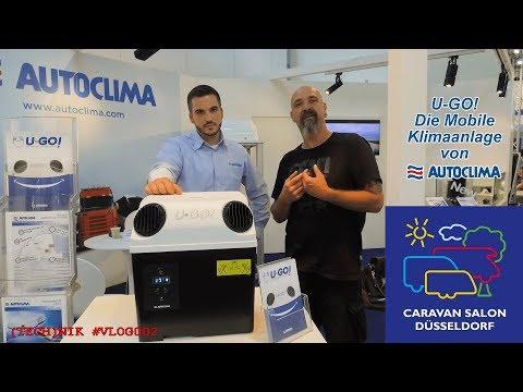"WoMo News: U-GO! von Autoclima! Die Mobile Klimaanlage ""Caravan Salon 2017"" (Tech)Nik #Vlog002"
