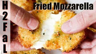 Amazing Appetizers | FRIED MOZZARELLA | How To Feed A Loon
