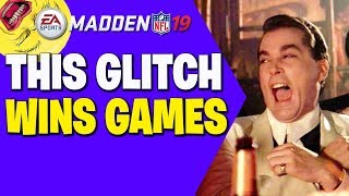 Winning Games With A Glitch!! No Defense Can Stop It!! Madden 19 Tips