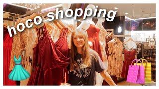 Homecoming Dress Shopping Vlog 2019!!